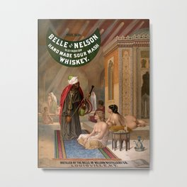 Belle of Nelson Old Fashion Hand Made Sour Mash Whiskey Metal Print