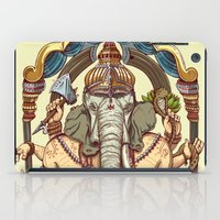 ganesha iPad Cases featuring Ganesha by Pirates of Brooklyn
