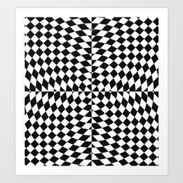 Trippy Star Art Print
