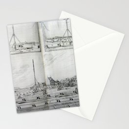 Johannes Hevelius - Celestial Devices, Part 1 - Plate 4 Stationery Cards