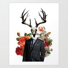 Hannibal as the Wendigo Art Print