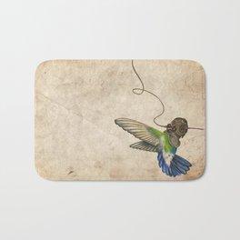 Underwater Hummingbird Bath Mat