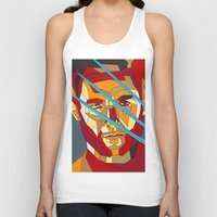 lawyer Tank Tops featuring James Howlett by Liam Brazier