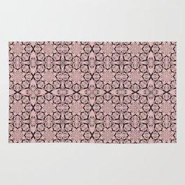 Rose Quartz Geometric Rug