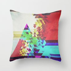 Triangle Lover Throw Pillow