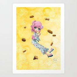 Desserts de matsuri - Desserts from matsuri Art Print