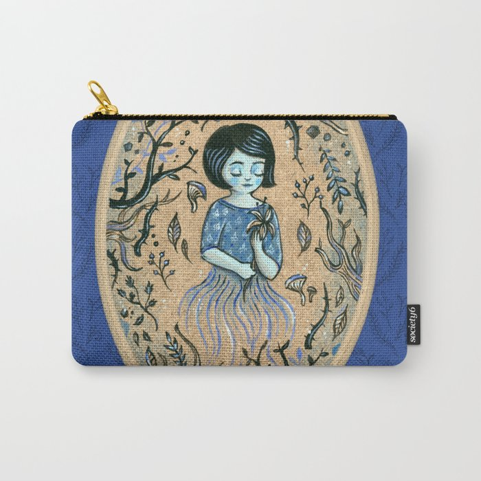 Hidden place - forest girl 2 Carry-All Pouch