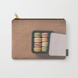 French bakery macarons sweet pastries Carry-All Pouch
