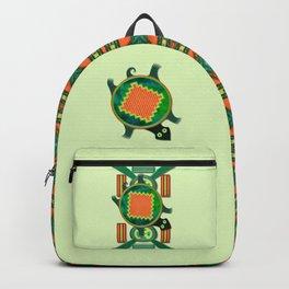 Native American Folk Art Turtle Backpack