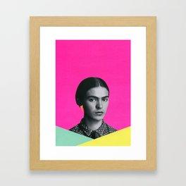 Modern Frida Framed Art Print