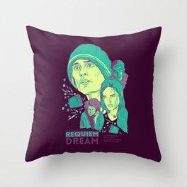 Requiem For A Dream Throw Pillow