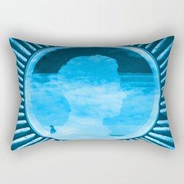 Liberty Blue Rectangular Pillow