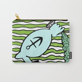 SPINACH FLAG. Carry-All Pouch