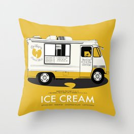 Raekwon of Wu-Tang - Ice Cream Throw Pillow