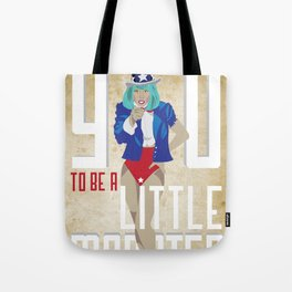 For The Monsters Tote Bag
