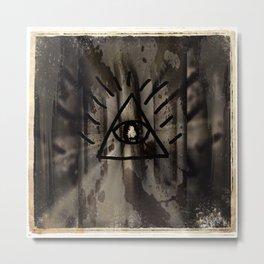 Eye of Providence Metal Print