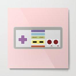 Videogame Metal Print