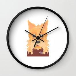 Irish Terrier Dog Wall Clock
