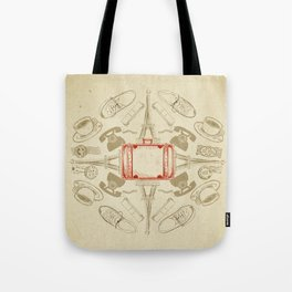 The Suitcase Tote Bag