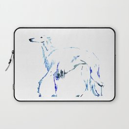 For the Love of Borzoi Laptop Sleeve