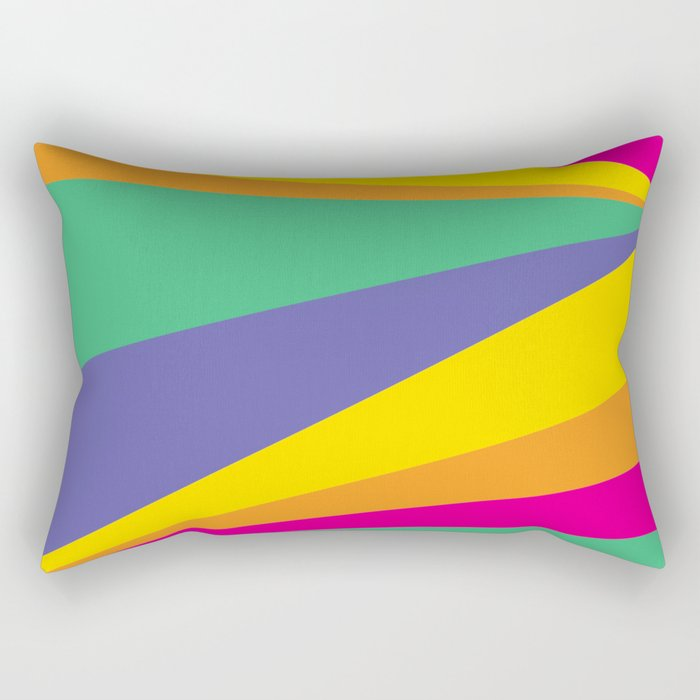 Color lighting Rectangular Pillow