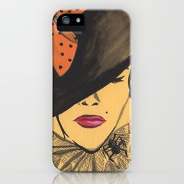 Sophisticated Witch iPhone Case