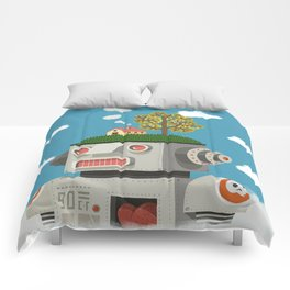 Above the clouds Comforters
