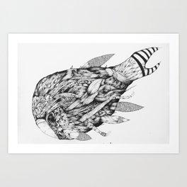 Mamnomas Art Print