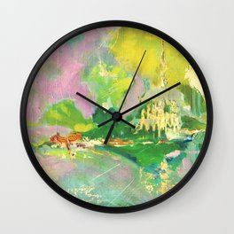 Eve of Camlann Wall Clock