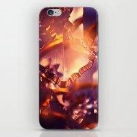 chandelier iPhone & iPod Skins featuring chandelier by Madara Upmane