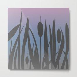Reed Bush Metal Print