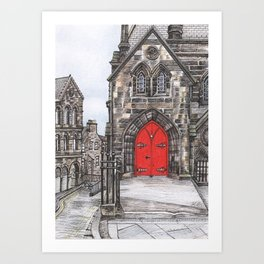 The Royal Mile Art Print