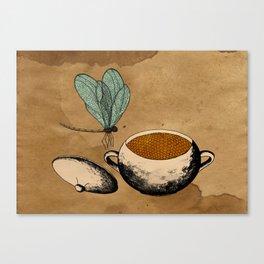 - dragonflies in honey - Canvas Print
