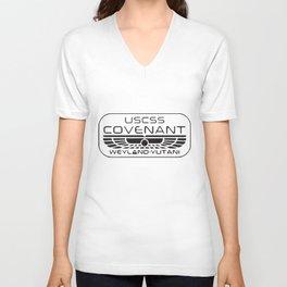 Alien Covenant Inspired Geek T-Shirts Unisex V-Neck