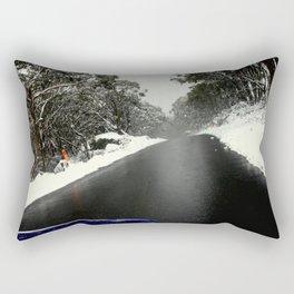 No Chains, No Traction, No Common Sense Rectangular Pillow