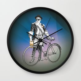 Every weekend I take the fixed gear to the farmers market for Vegan Artisan Granola. Wall Clock