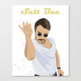 Salt Bae Guy Shirt Canvas Print