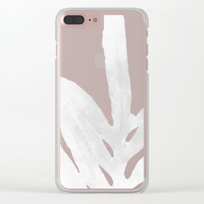 Ghost Fern Clear iPhone Case