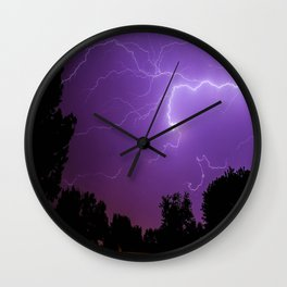Electrifying Wall Clock