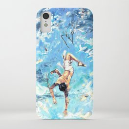 Fall of Icarus iPhone Case