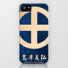 shimazu yoshihiro kamon iPhone Case
