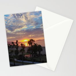 Big Blue Sunrise in Santa Barbara Stationery Cards