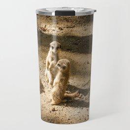 3 little meerkats Travel Mug