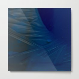 Deep blue ice Metal Print