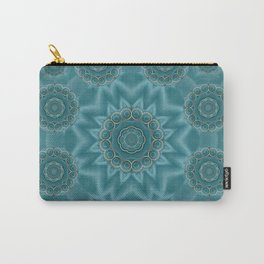 Wood and stars in the blue pop art Carry-All Pouch
