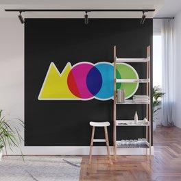 Mood Meme Colorful Geometric Typography Wall Mural