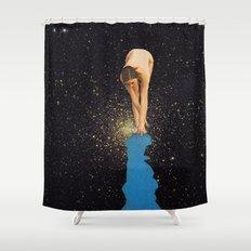 Globular Girl Shower Curtain