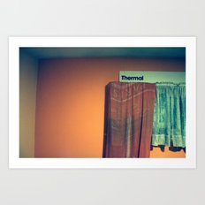 Thermal.  Art Print