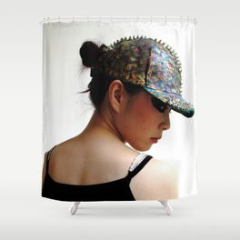 Slightly Punk (2) Shower Curtain
