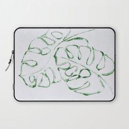 Monstera Leaves 2 Laptop Sleeve